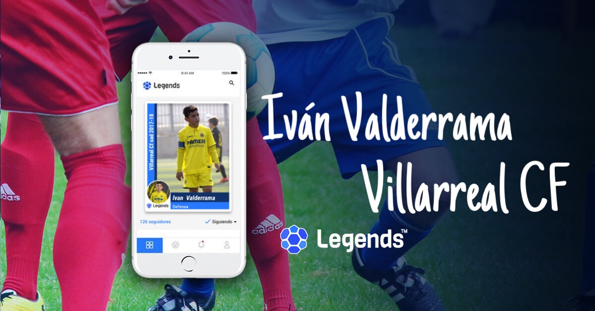Iván Valderrama from Villarreal CF