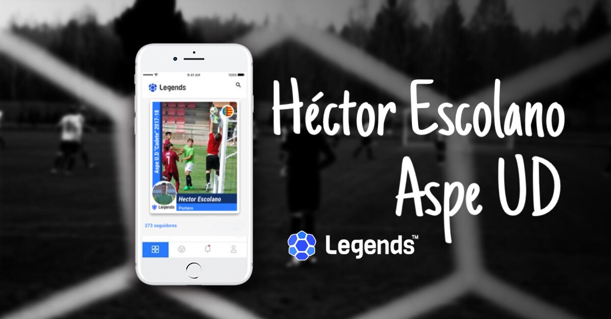Hector Escolano in Legends App